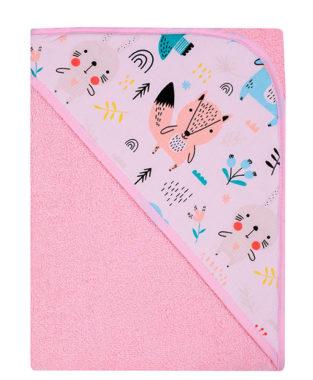 βρεφικη πετσετα με κουκουλα 3
