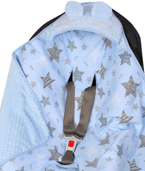 βρεφικη κουβερτα με κουκουλα 12
