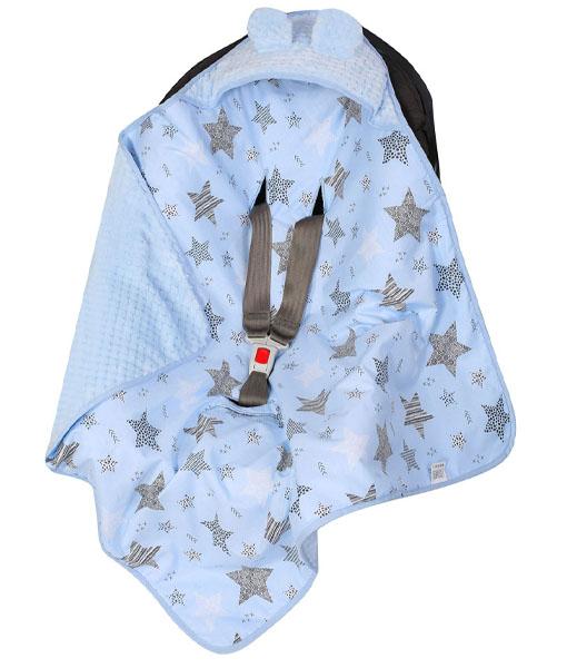 βρεφικη κουβερτα με κουκουλα 13