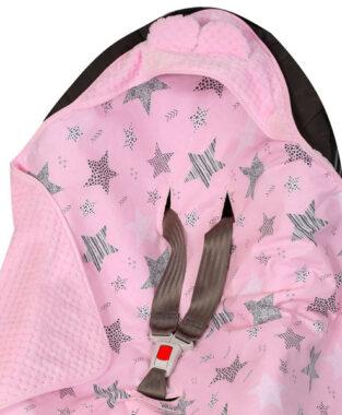 βρεφικη κουβερτα με κουκουλα 14